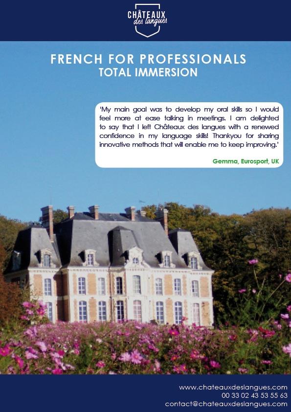 Châteaux des langues - Immersion pour les français
